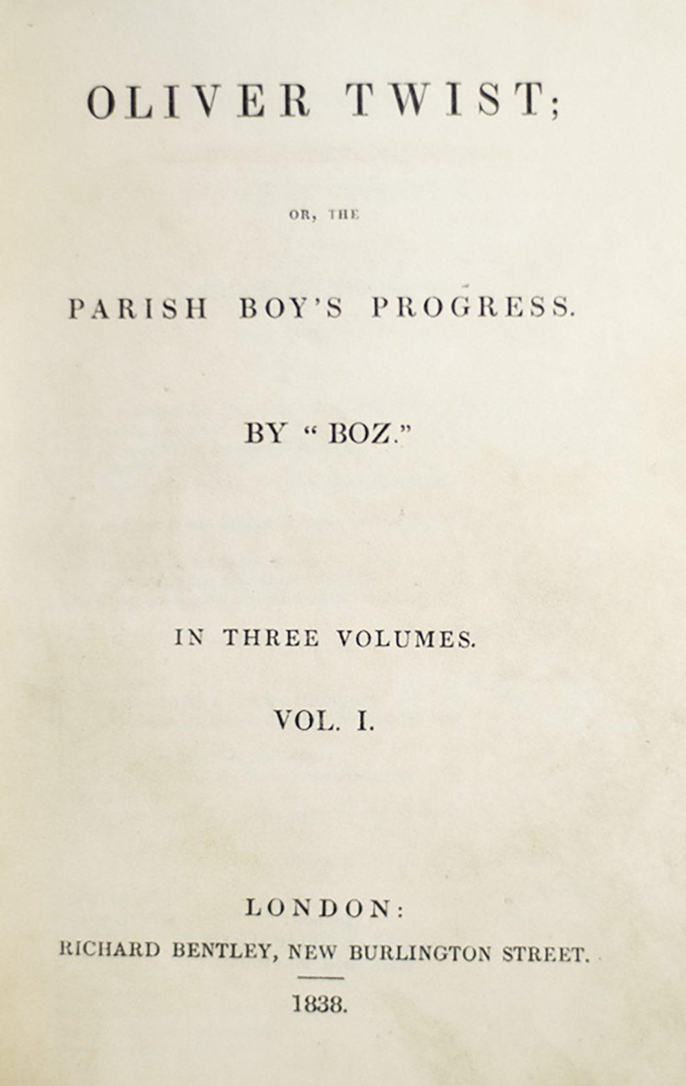 Birth - Oliver Twist